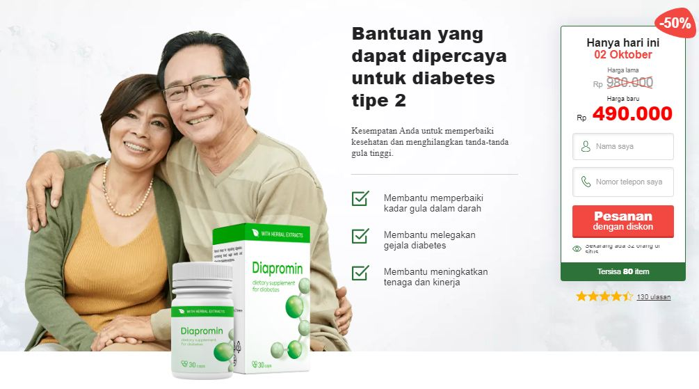 Diapromin Diabetes Harga